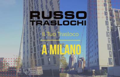 Traslochi Milano con la Scala da 70 Metri