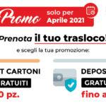 PROMO Doppia: vi regaliamo Kit Cartoni o Deposito Gratuito [Solo a Aprile 2021]